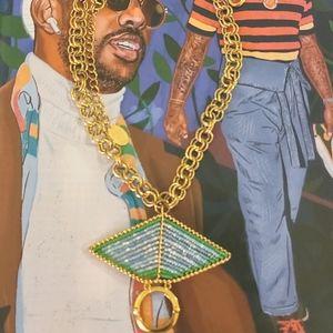 Erickson Beamon Gold  Necklace & Pendant